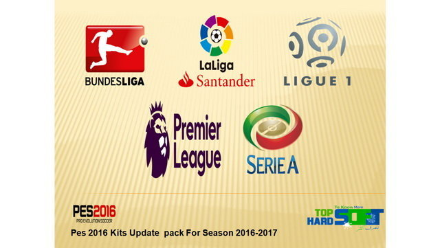 PES 2016 Kitpack Update For New Season 2016-2017
