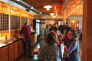 Wine tasting at Terra Nebulo