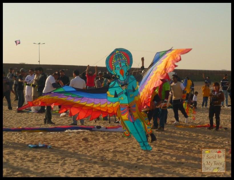 Kite festival in Dubai