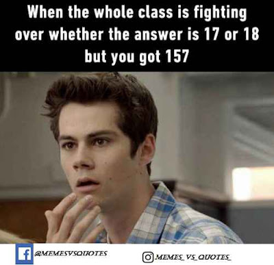 Whole class fighting