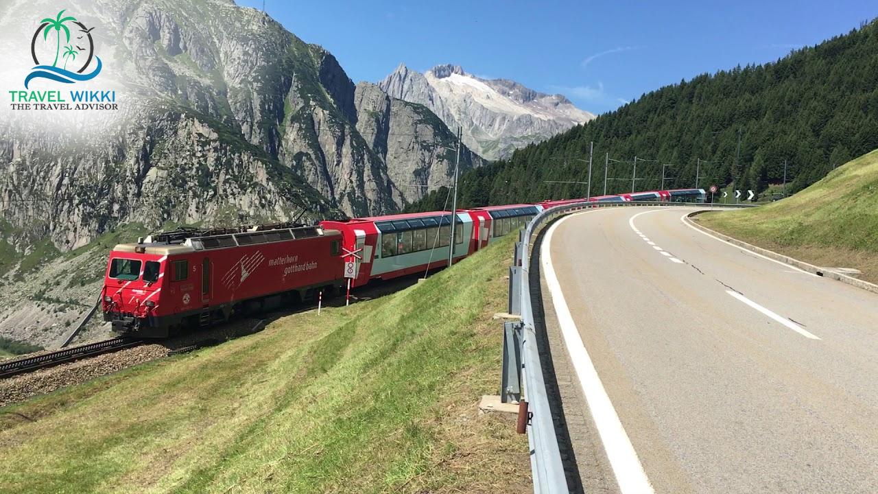 Oberalp Pass via Glacier Express