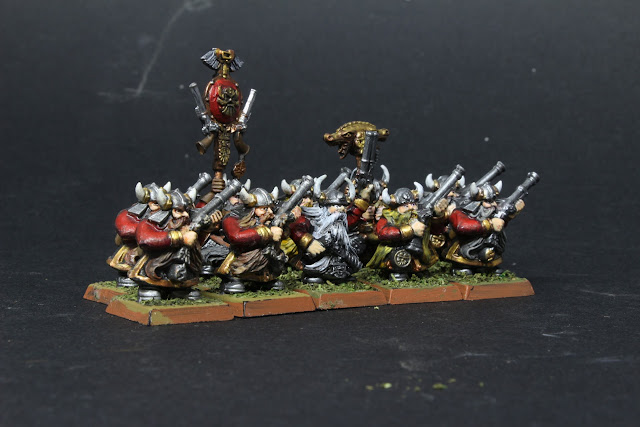 Arquebusiers nains pour King Of War.