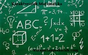 Karakteristik Matematika