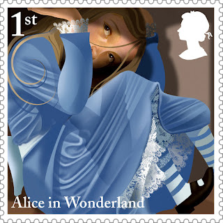 Reino Unido - Filatelia - 2015 - Alice in Wonderland 04