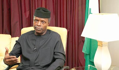 Religious leaders beg whenever I want to fire some corrupt people- Osinbajo