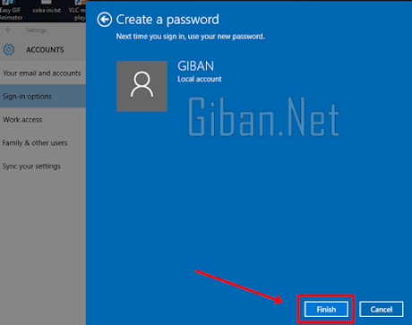 Cara Menambahkan Password di Windows 10