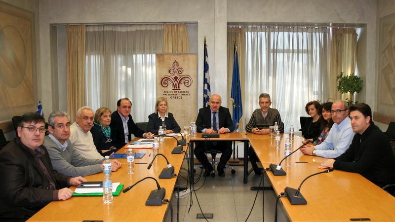 Συνεργασία Περιφέρειας ΑΜ-Θ και ΕΦΕΤ για την ασφάλεια των τροφίμων