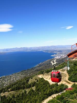 2 weeks in Patagonia: Cerro Otto Cable Car near Bariloche Argentina
