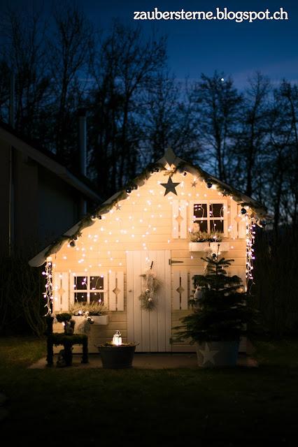 Kinderspielhaus, Weihnachtshaus, Knusperhaus, Elfenhaus, Kreativblog Schweiz, Weihnachtsdeko, Kinderweihnachtsdeko, Kinderinspiration, Kreativblog Schweiz