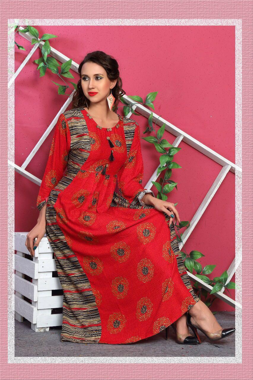Mirayaa ferrari regular wear kurties catalog