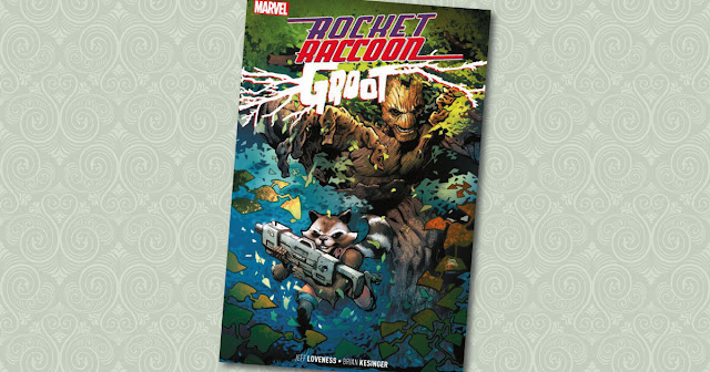 Rocket Raccoon Groot Panini Cover