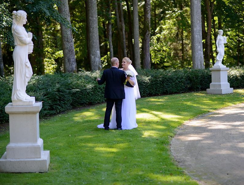 vestuvės Palangos botanikos sode