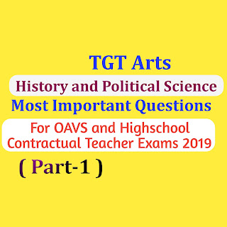 History and Political Science Questions for OAVS and Highschool Teacher Exams