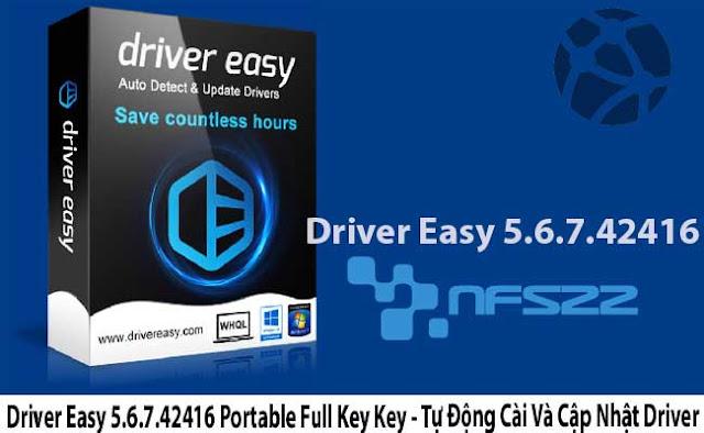 Driver Easy 5.6.7.42416 Portable Full Key Key - Tự Động Cài Và Cập Nhật Driver