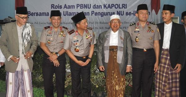 Kapolri: NU dan Muhammadiyah Jadi Incaran Kelompok Radikal