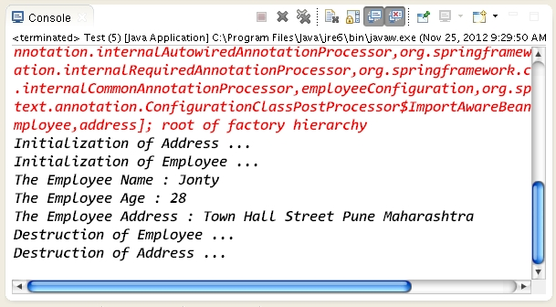 How to use Java based configuration in Spring Framework