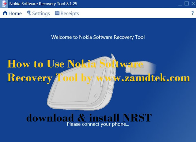 How to use Nokia Software Recovery Tool (NSRT)