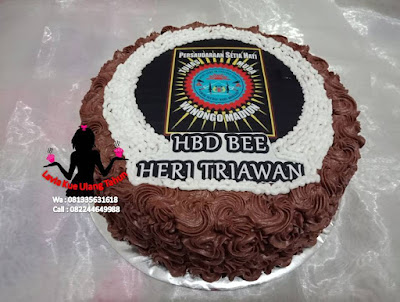 Kue Tart Ulang tahun Persaudaraan Silat Setia Hati Terate