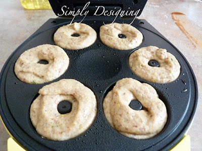 02 Zucchini Donuts with babycakes Donut Maker 14