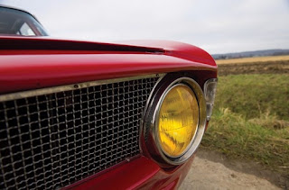 1965 Alfa Romeo Giulia Sprint GTA Headlights