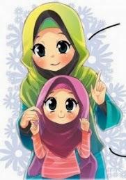 98 Gambar Animasi Ibu Dan Anak Perempuan Cikimm Com
