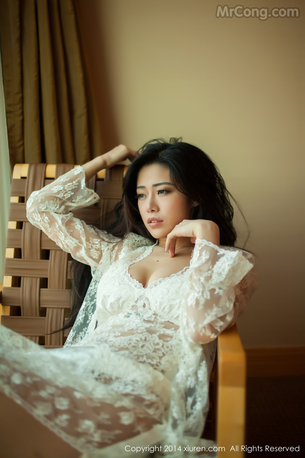 Image MrCong.com-XIUREN-No.161-Luvian-Ben-Neng-009 in post XIUREN No.161: Người mẫu Luvian (本能) (51 ảnh)