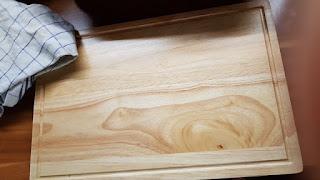 Best bewertetes Schneidebrett aus massivem Holz 40x25cm gro/ßes K/üchenutensil st/ärker als Kunststoff oder Bambusbretter Lebenslange Ersatzgarantie Chef Remi Schneidebrett