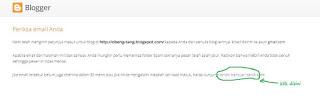 Bagaimana cara mengetahui Alamat email yang lupa di blogger  Lupa Alamat Email Untuk Masuk Blogger