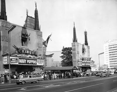 Estreno de Mary Poppins, 1964