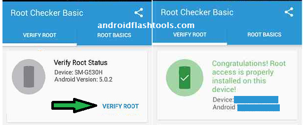Root Checker App Samsung Galaxy