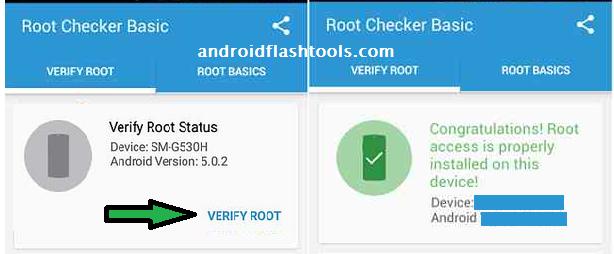 Root Checker App Samsung Galaxy