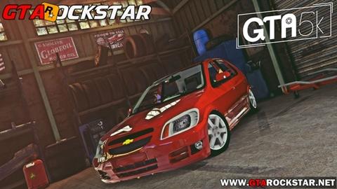 Chevrolet Celta Rebaixado para GTA V