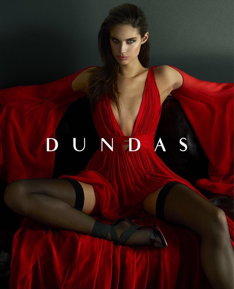 Sara Sampaio sizzles for the Dundas Resort 2018 Campaign