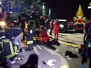 Six dead in stampede at Italian nightclub: Firefighters