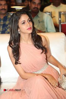 Actress Lavanya Tripathi Pictures in Long Dress at Srirastu Subhamastu Pre release Function 0002