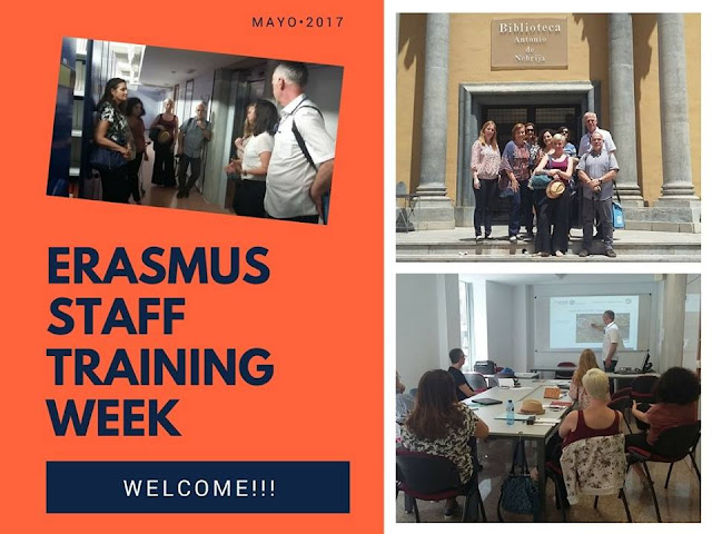 Erasmus Training Staff Week 2017.