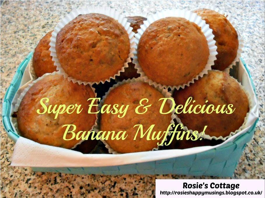 Easy Banana Muffin Into A Cake Recipe