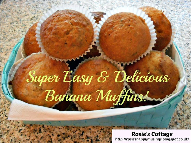 Super Easy & Delicious Banana Muffins