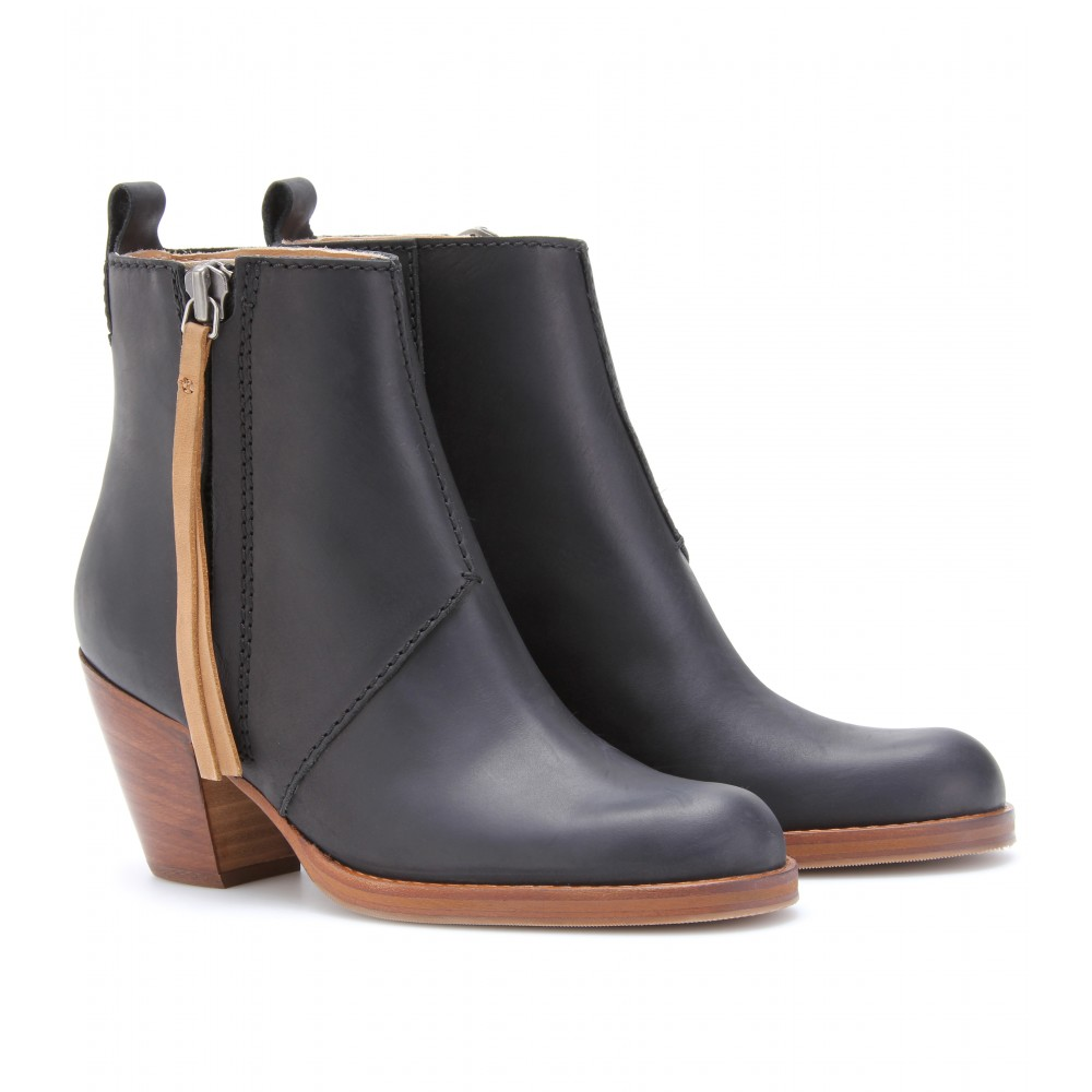 Drooling Over: ACNE Pistol Leather Ankle Boots | Dear Lula