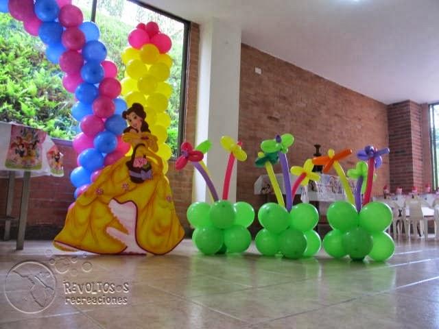 Decoracion fiestas princesas de disney fiestas infantiles - Decoracion fiesta princesas disney ...