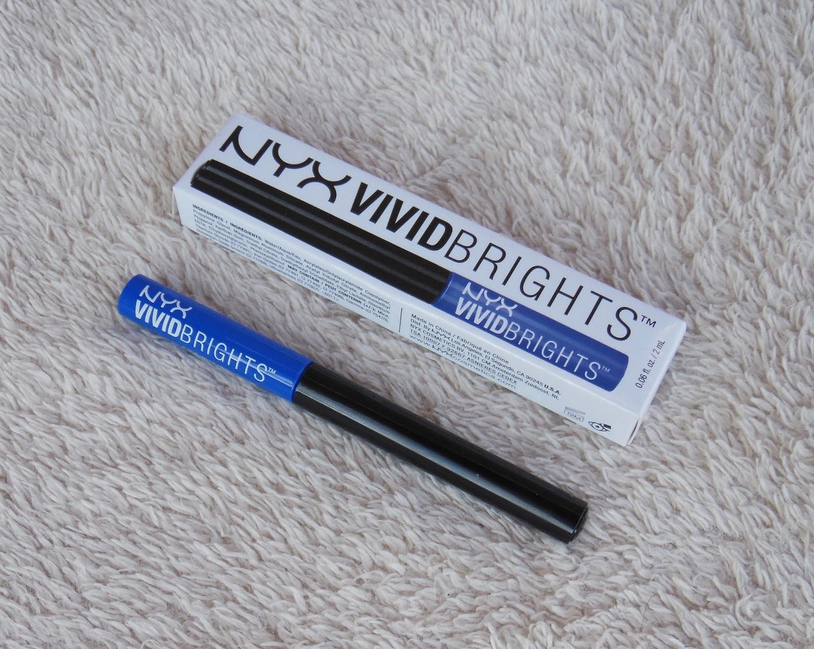 NYX Vivid Brights Vivid Sapphire