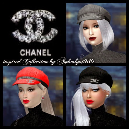 My Sims 4 Blog Chanel Clothing And Hats For Females