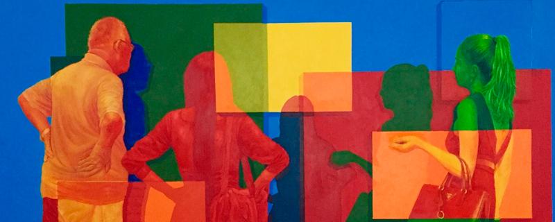 El color, el elemento clave de la obra de un pintor daltónico