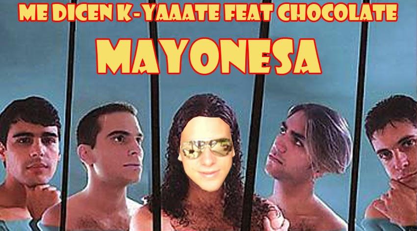 Chocolate Mayonesa Humor