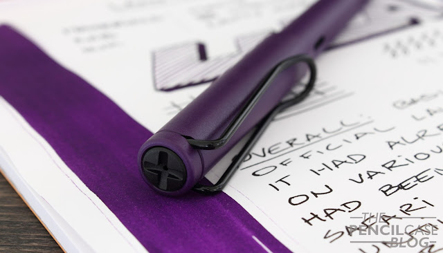 Lamy Safari Dark Lilac special edition fountain pen review