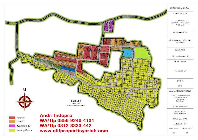 Kavling Andalus Cariu Bogor (Grand Andalusia Village)
