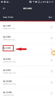 cara mengambil bonus cashback dari isi ulang telkomsel