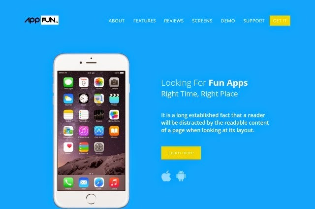 App Fun - Bootstrap Responsive Web Template