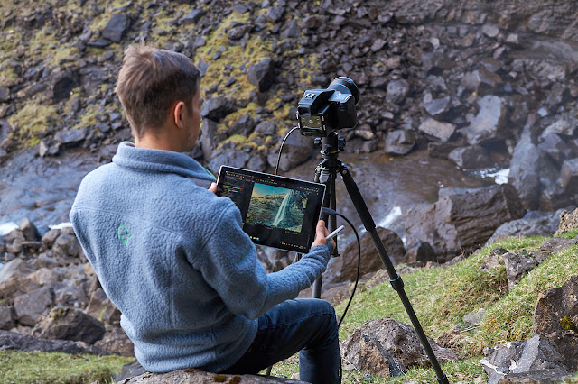 Tethered Shooting mit Capture One Pro 10 auf einem Microsoft Surface Pro 4 und einem Phase One IQ3 100MP XF System