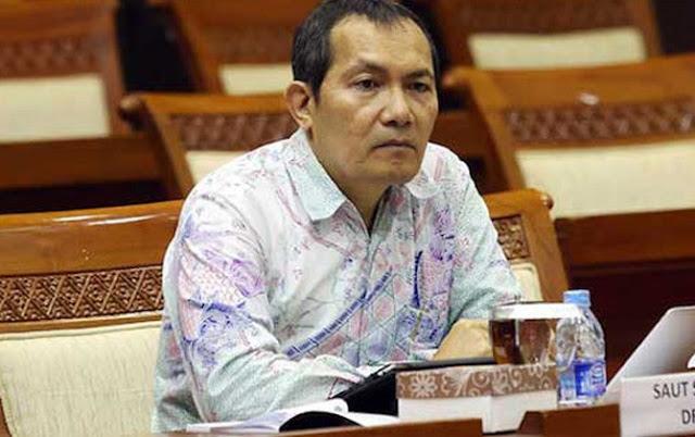 Di Depan Awak Media, Saut Situmorang Keceplosan soal Kasus Novanto